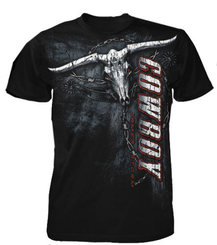 "TNA - James Storm ""Longhorn"" T-Shirt"