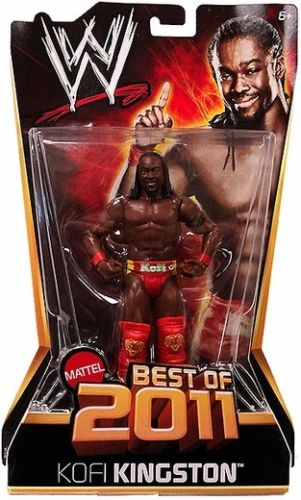 WWE - Basic Best of 2011 - Kofi Kingston Figure