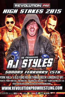 RPW - High Stakes 2015 A3 Poster