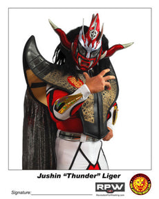 "RPW - Jushin ""Thunder"" Liger 8x10 Photo"