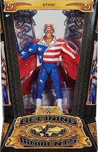 "WWE - Defining Moments ""American"" Sting Figure"