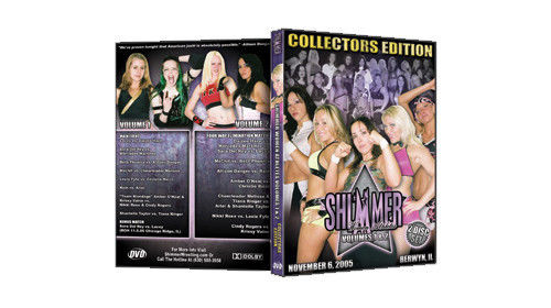 Shimmer - Woman Athletes - Volume 1 and 2 DVD