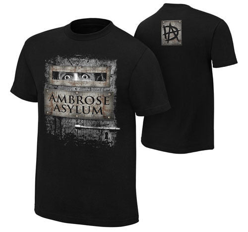 "WWE - Dean Ambrose ""Ambrose Asylum"" Authentic T-Shirt"