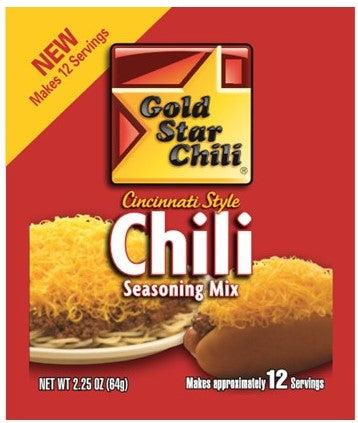 Gold Star Chili Spice Packs