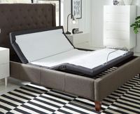 Open Box Return - Head Tilt Adjustable Bed Base with Wireless Remote