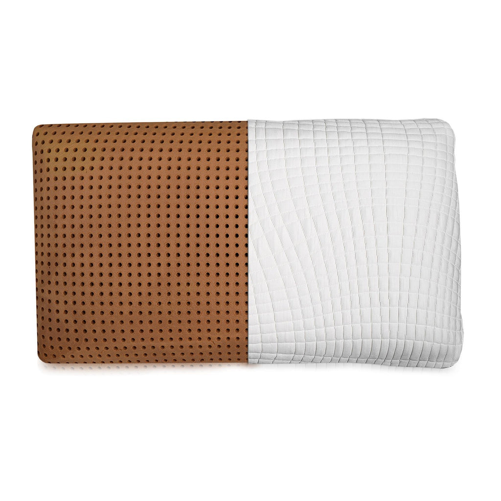 Ventilated Copper Memory Foam Pillow - Washable Cover - zzZensleep