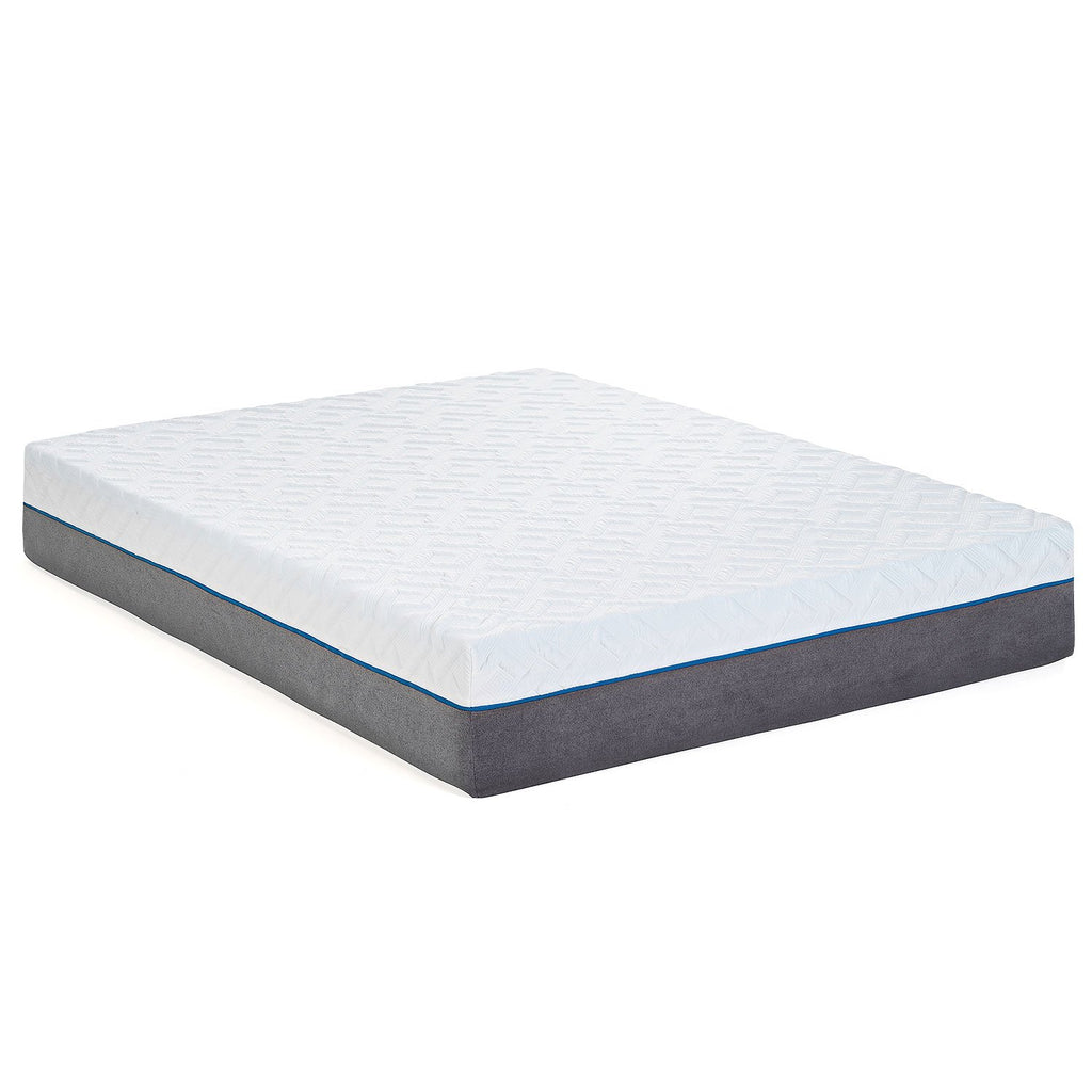 "12"" Gel Infused - Plush - Premium Memory Foam Mattress - zzZensleep"