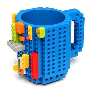 Drink-ware Building Blocks Mugs Block Puzzle Mug  Build-On Brick