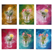 Hanging Wall Mounted Glass Flower Vase