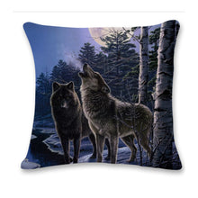 Wolf Tower Sofa Bed Home Decoration Pillow Case Cushion Cover