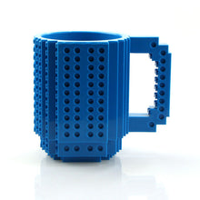Build-On Brick Mug Puzzle Mug Building Blocks Creative Drink-ware