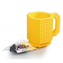 Build-On Brick Mug Coffee Cup Puzzle Mug