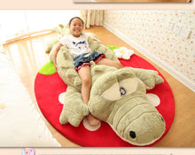 NEW!   Cute Crocodile Lying Section Plush Pillow 60 cm