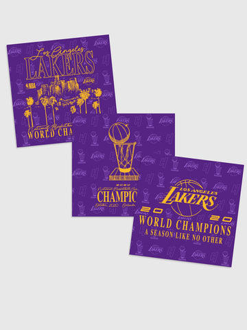 HoH x Lakers Champions Stickers