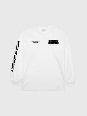 Knockout Royale White Long Sleeve
