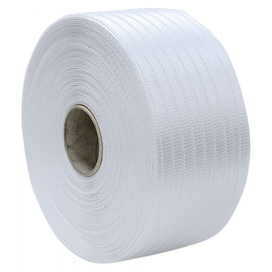 16mm Woven Polyester Strapping 600m Coil (600kg break strength)