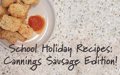 Easy Kid-Friendly School Holiday Recipes Using Cannings Sausages!