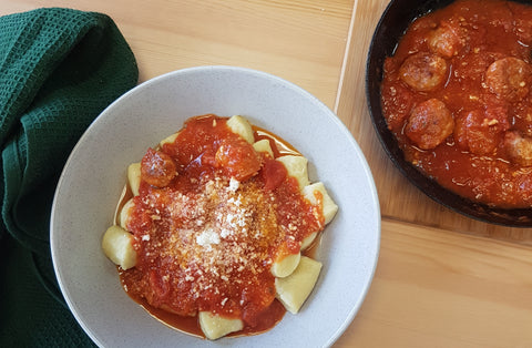 School Holiday Recipes Part 3: Pork and Fennel (Sausage) Meatball Pasta