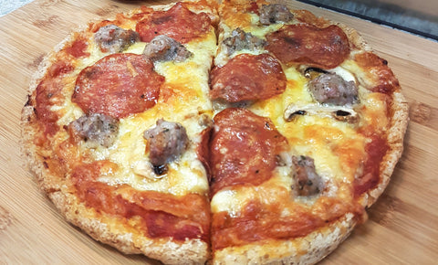School Holiday Recipes Part 1: Super Easy Gluten Free (Sausage) Meatball Pizzas
