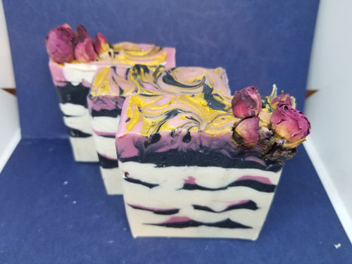 Cherry Blossoms, Anise and Rose Handcrafted Lux Soap