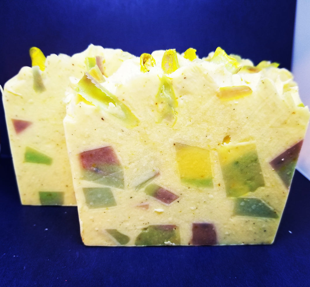 Luscious Lemongrass Handcrafted Luxury Soap