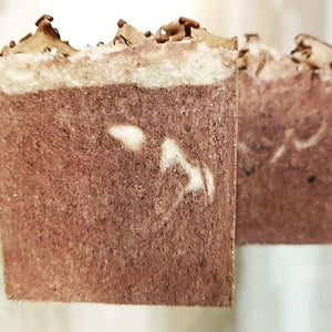 Chocolate Cake Handcrafted Artisan Bath Soap