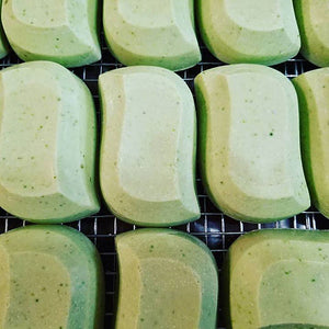 Natural Cucumber Green Tea and Oatmeal Handcrafted Complexion Bar