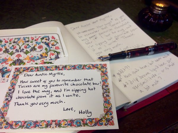 Dutiful Thank You note