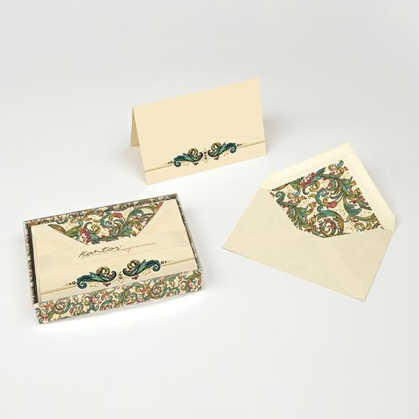 Kartos Boxed Folded Cards & Envelopes