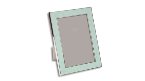 Shagreen Effect Photo Frame - Sea