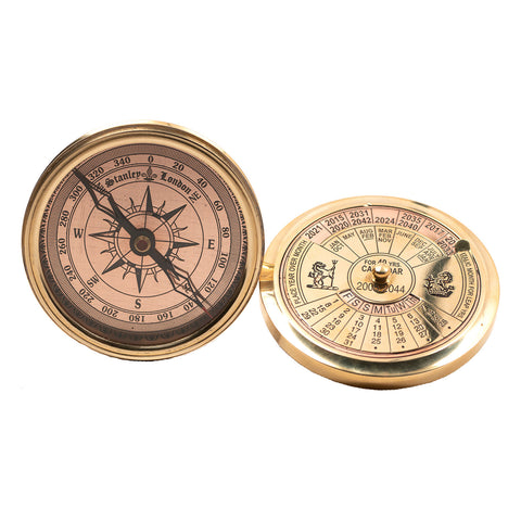 40 Year Calendar Compass - shiny