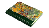 Italian Marbled Journal - green