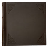 Amarcord Classic Leather Photo Album  - extra large brown square
