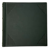 Amarcord Classic Leather Photo Album  - extra large green square