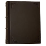 Amarcord Classic Leather Photo Album  - large brown portrait