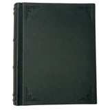 Amarcord Classic Leather Photo Album  - large green portrait