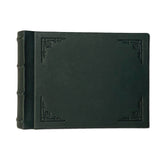 Amarcord Classic Leather Photo Album - small green landscape