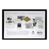 Architectural Classics Notecards - Back of Box