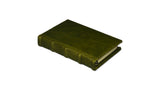 Bomo Art Leather-bound Journal - Small chunky, green