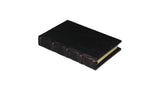 Bomo Art Leather-bound Journal - Small chunky, purple