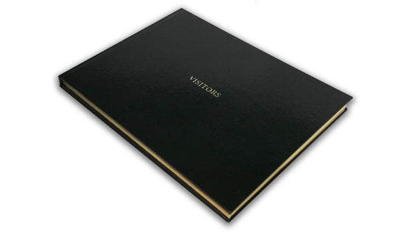 Visitors' Book - Black