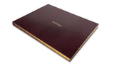 Visitors' Book - Burgundy