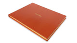 Visitors' Book - Orange