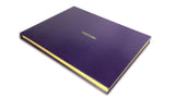 Visitors' Book - Purple
