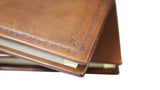 Barraco Italian Leather Address Book from Scriptum Close Up