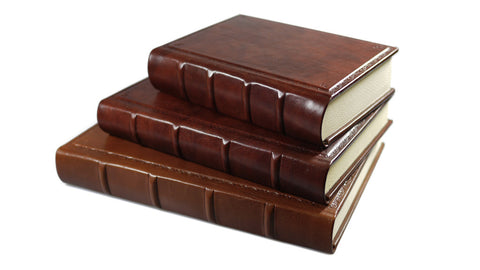 Barraco Italian Leather Journal - Hand-Tooled