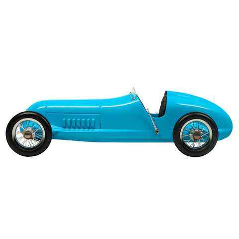Blue Race Model Car