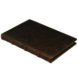 Bomo Art Dot Grid Leatherbound Journal - Brown