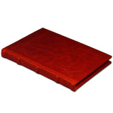 Bomo Art Dot Grid Leatherbound Journal - Red