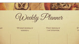 Bomo Art Weekly Planner - close-up